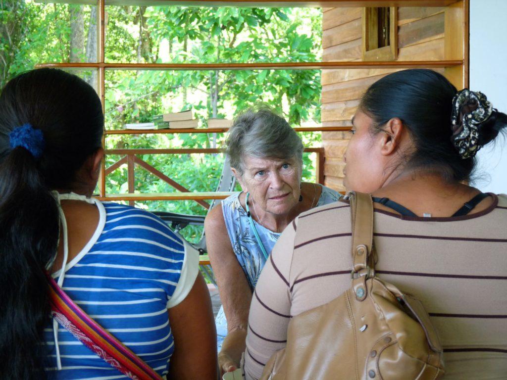 Volunteering During The Indigenous Women's Seminar